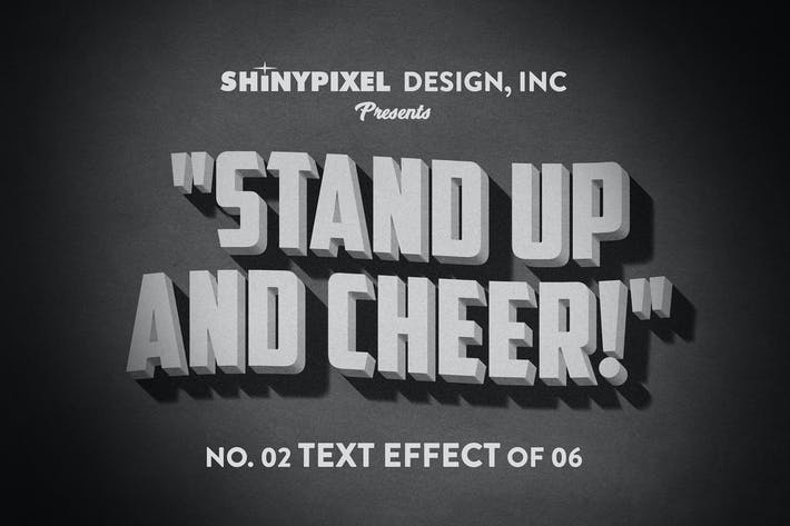 Thumbnail for Old Movie Title - Text Effect n° 2 of 6