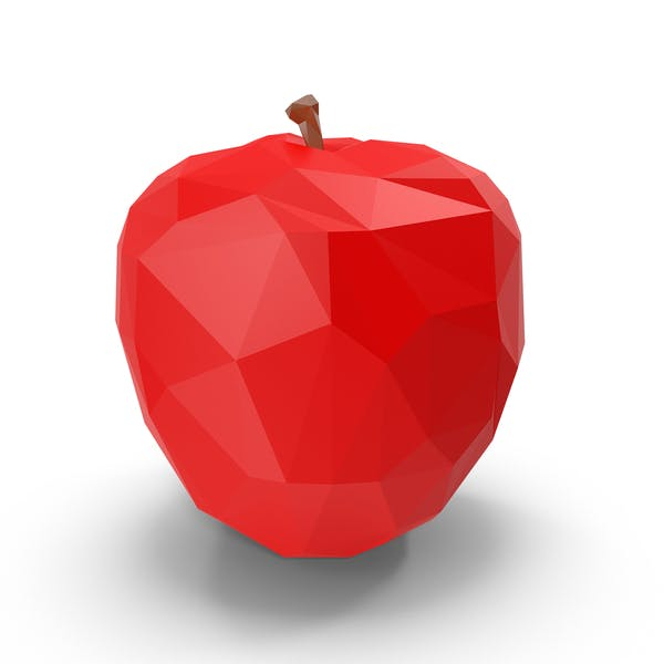Thumbnail for Low Poly Red Apple