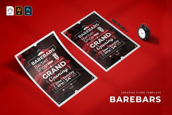 Thumbnail for Barebars | Flyer