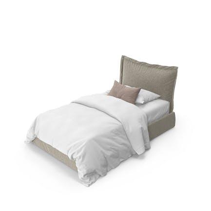 Vanity Single Bed