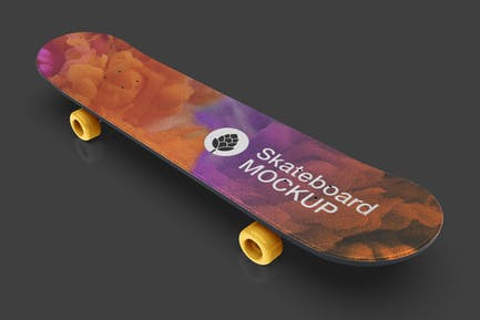 Skateboard Mockup