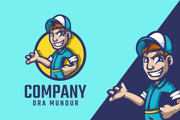 Workers Logo Mascot