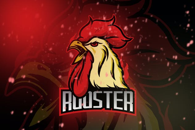 Rooster Esport Logo Vol. 1 - product preview 0