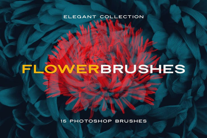 Thumbnail for Elegant Flower Brushes for Photoshop