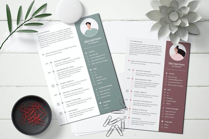 Thumbnail for CV/Resume