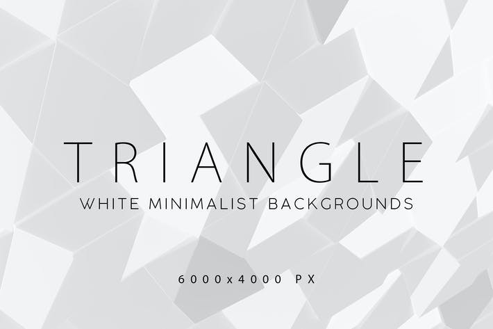 Thumbnail for White Triangle Backgrounds 2