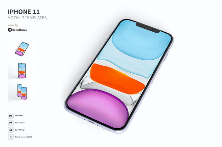 Thumbnail for IPhone 11 Mockup FH