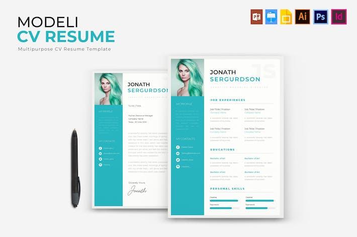 Thumbnail for Modeli | CV &  Resume