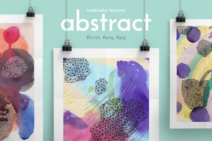 Thumbnail for Abstract Watercolor Textures