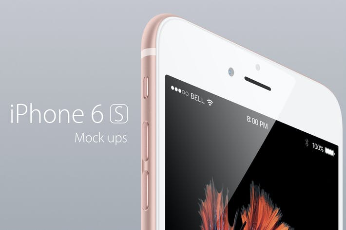 Thumbnail for Phone 6s Mock-up Mock-up
