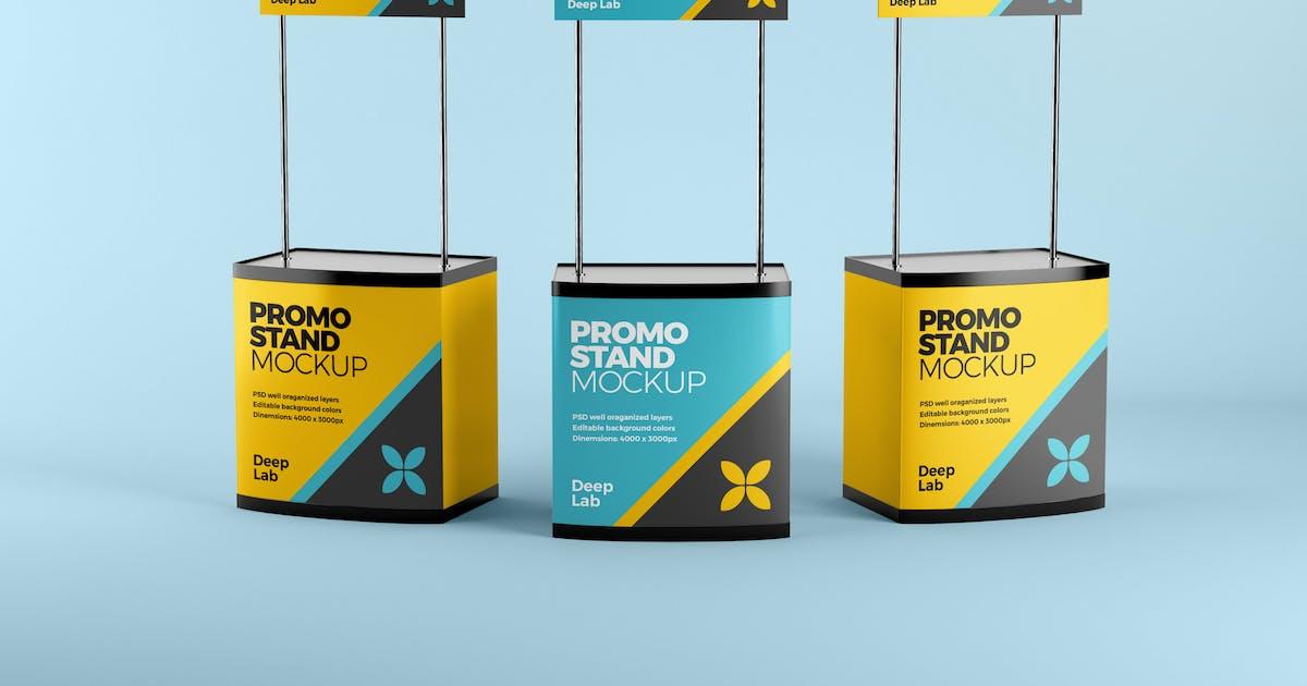 Download Promotion stand mockup by deeplabstudio
