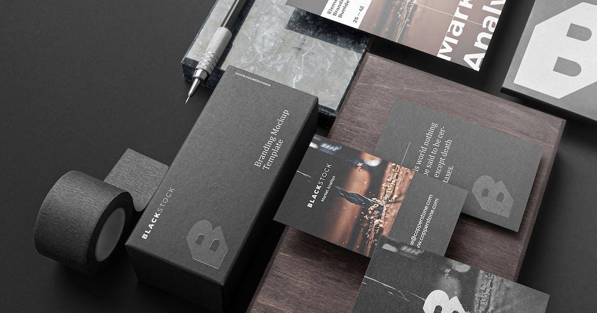 Download Blackstone Branding Mockup Vol. 1 by Genetic96