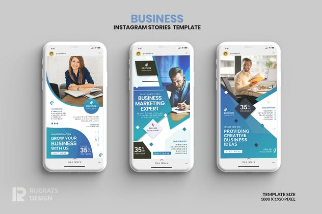 Business Instagram Stories r1 Template - product preview 0