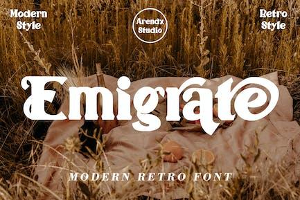 Emigrate - Modern Retro