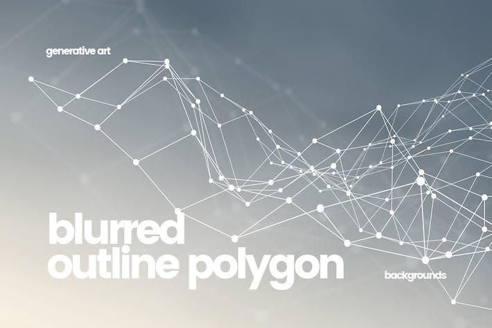 Thumbnail for Polígono de contorno con Fondos de puntos conectados