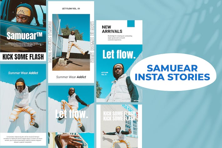 Thumbnail for Samuear - Insta Stories Template