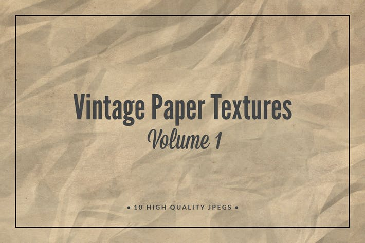 Thumbnail for Vintage Paper Textures Volume 1