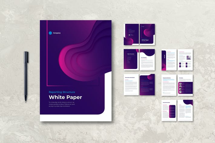 Cover Image For White Paper Company Progress Report