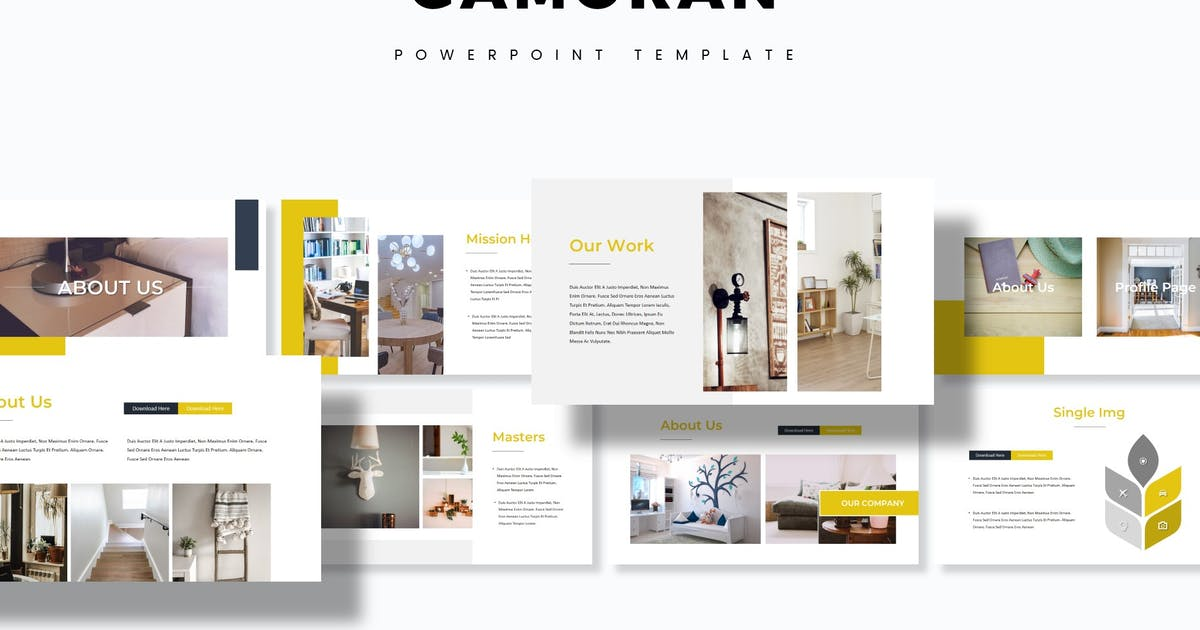 Download Gamoran - Powerpoint Template by aqrstudio
