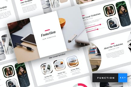 Function - IT Company Keynote Template