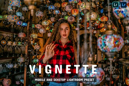 Vignette Lightroom Presets Dekstop and Mobile
