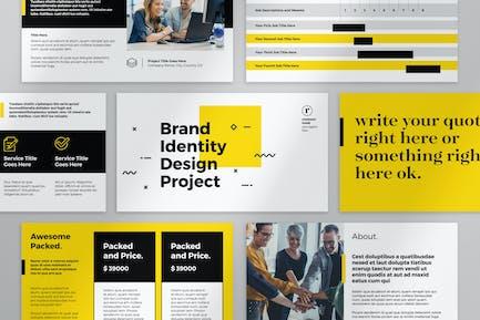 Brand Identity and Proposal Presentation