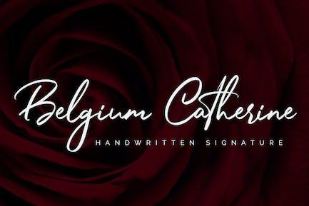 Belgium Catherine - Handwritten Signature