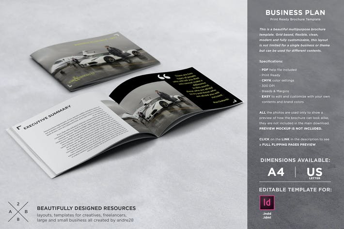 Thumbnail for Business Plan Template