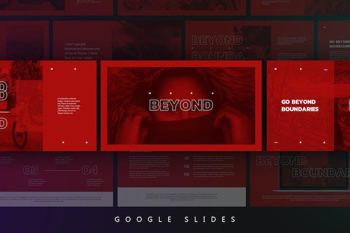 Thumbnail for Meka - Creative Google Slides Template