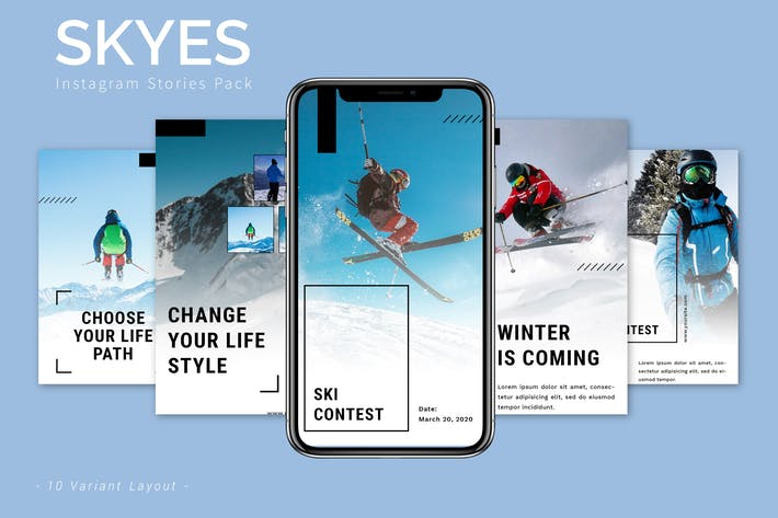 Skyes - Instagram Promotion Pack