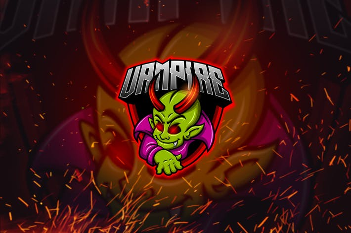 Thumbnail for Baby Vampire - Mascot & Esports Logo YR