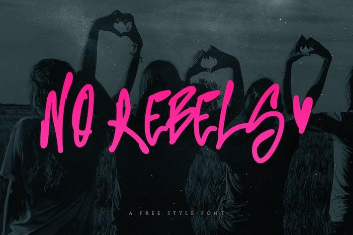 Thumbnail for No Rebels Font