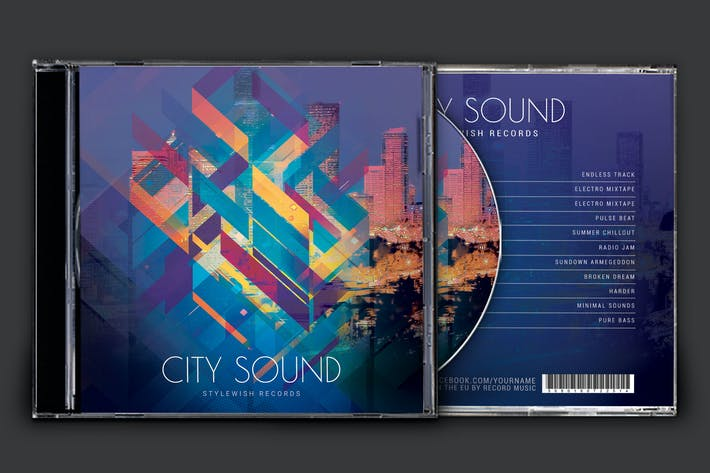 Thumbnail for City Sound CD Cover Artwork