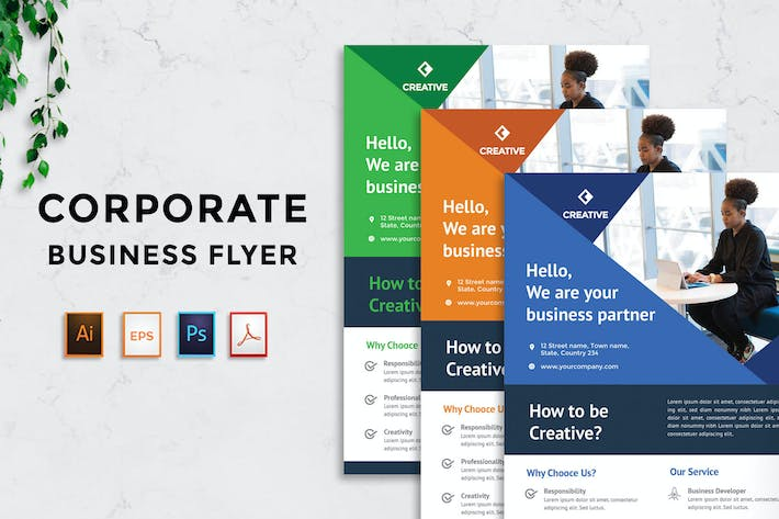 Thumbnail for Corporate Business Flyer v16 - [code YP]