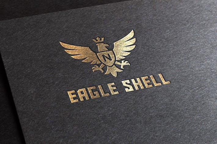 Thumbnail for Eagle Shell Logo Template