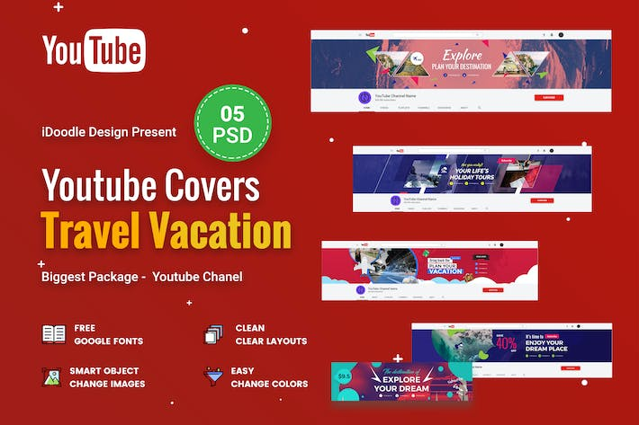 Thumbnail for Travel Vacation - Youtube Chanel