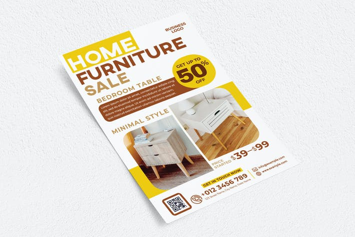 Thumbnail for Home Furniture Sale Flyer