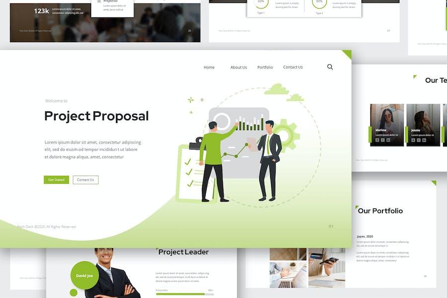 Project Proposal Pitch Deck Google Slides