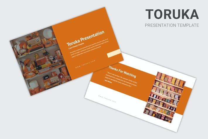 Toruka - Cyber Monday Sale Powerpoint