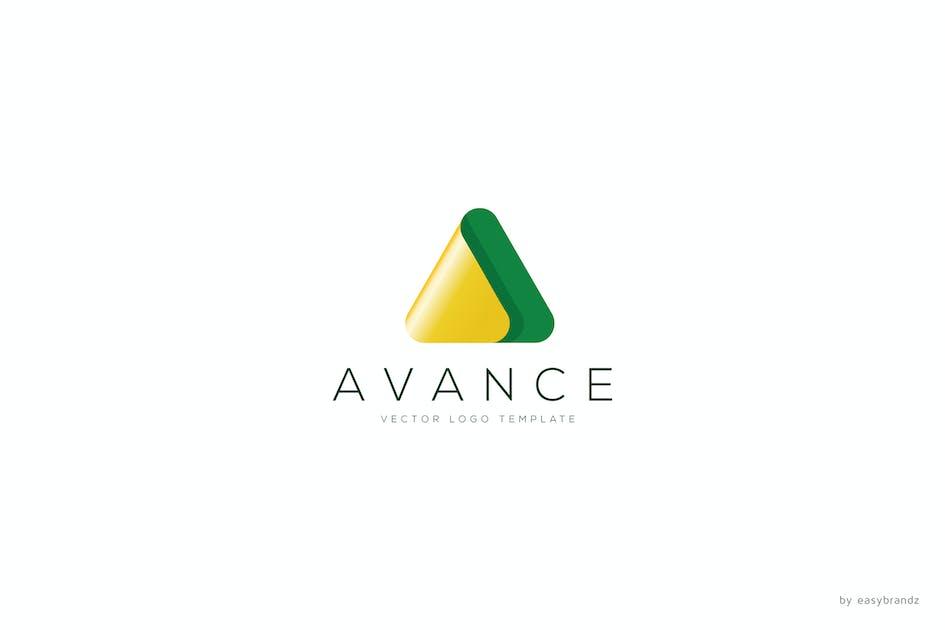 Download Avance Logo Template by Easybrandz2
