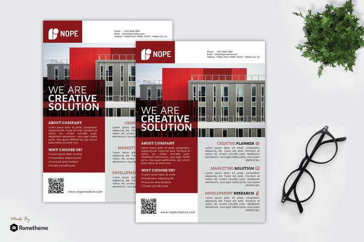Thumbnail for Nope Creative Solution - Business Flyer RB