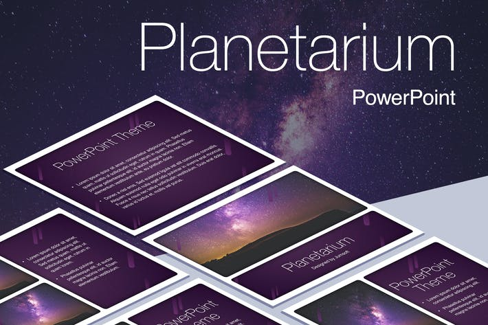 Thumbnail for Planetarium PowerPoint Vorlage