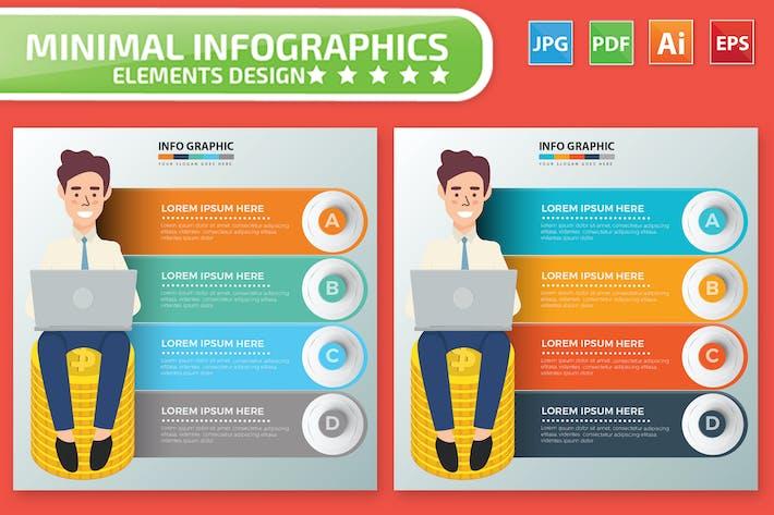 Cover Image For Бизнесмен Инфографика