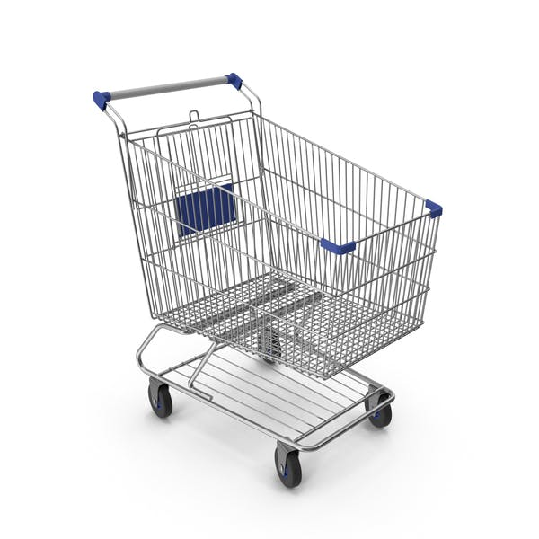 Thumbnail for Shopping Сart with Blue Plastic