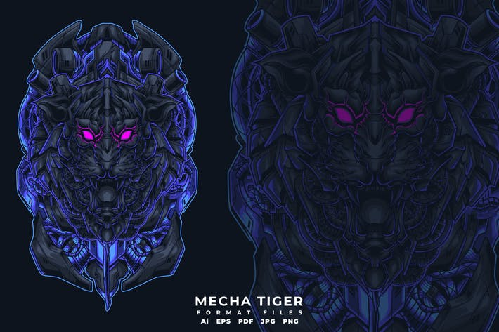 Thumbnail for MECHA TIGER
