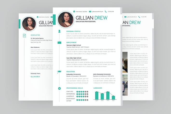 Thumbnail for Hint CV Resume Designer