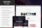 Ventura - Parallax One Page Adobe Muse Template