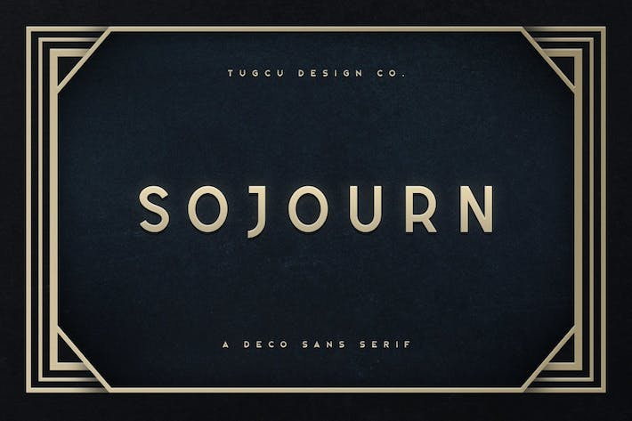 Cover Image For Sojourn Tipo de letra