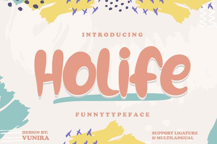 Thumbnail for Holife | Funny Tipo de letra