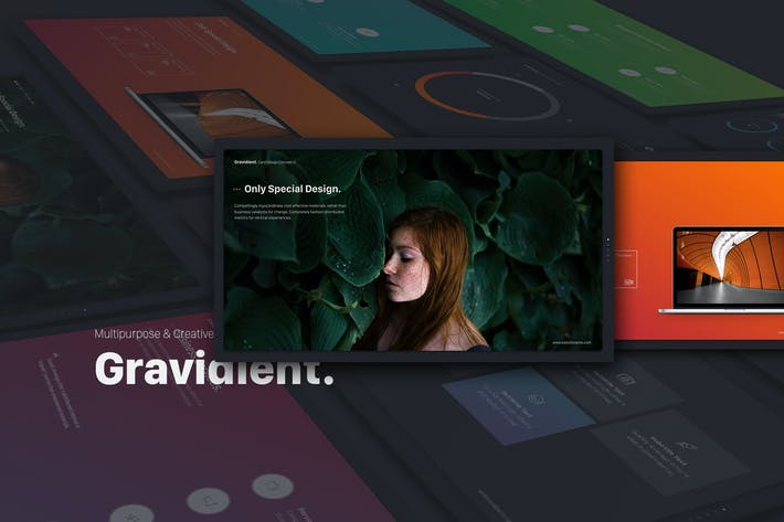 Thumbnail for Gravidient Powerpoint Simply Theme